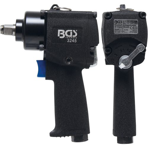 """BGS  Technic Air Impact Wrench  12.5 mm (1/2"""")  678 Nm"""