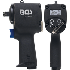 """Air Impact Wrench  12.5 mm (1/2"""")  678 Nm  extra short 98 mm"""