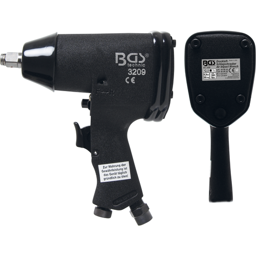 """BGS  Technic Air Impact Wrench  12.5 mm (1/2"""")  366 Nm"""