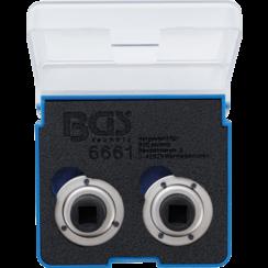 Brake Piston Reset Adaptor Set  universal  with 2 & 3 Pins  2 pcs.