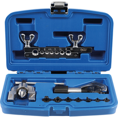 Double Flaring Tool Kit with Pipe Cutter  10 pcs.