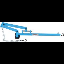 Dwarse draagarm-hevelgereedschap  met ketting