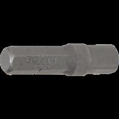 """Bit-ratelsleuteladapter  buitenzeskant 6,3 mm (1/4"""") - buitenvierkant 6,3 mm (1/4"""")  30 mm"""