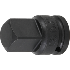 "Impact Socket Adaptor  internal square 12.5 mm (1/2"") - external square 20 mm (3/4"")"