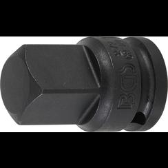 """Kracht dopsleuteladapter  12,5 mm (1/2"""") - buitenvierkant 20 mm (3/4"""")"""