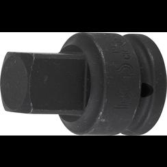 "Impact Socket Adaptor  internal square 20 mm (3/4"") - external square 25 mm (1"")"