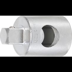 """Schuifgreep adapter voor verlengingen  10 mm (3/8"""")"""