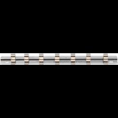 """Opsteekrail met 7 clips  6,3 mm (1/4"""")"""