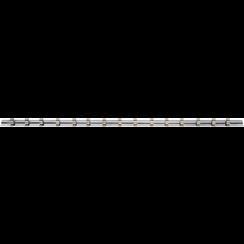 """Opsteekrail met 15 clips  6,3 mm (1/4"""")"""