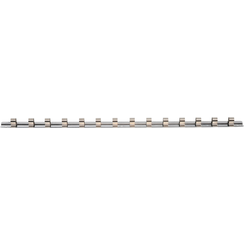 """Socket Rail with 15 Clips  10 mm (3/8"""")"""