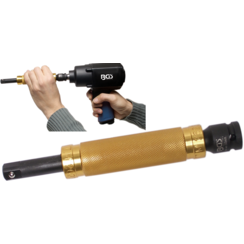 """Impact Extension Bar with Ball Bearing Handle  12.5 mm (1/2"""")  200 mm"""