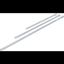 """Extension Bar Set  12.5 mm (1/2"""")  450 / 600 / 750 mm  3 pcs."""