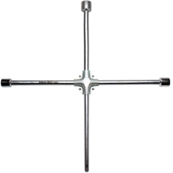 """Four-Way Wheel Wrench for Trucks  square  24 x 27 x 32 x 20 mm (3/4"""")"""