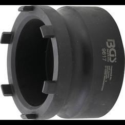 Groove Nut Socket for Wheel Hubs  external pins  for Mercedes-Benz, Nissan, Opel, Renault, VW