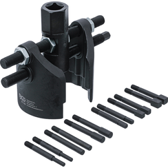 Universal Axle Cap and Groove Nut Wrench Set