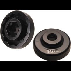 """Kracht-dopsleutel inzetzeskant / twaalfkant  12,5 mm (1/2"""")  voor Ducati wielbevestiging  28 / 55 mm"""