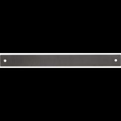 Carrosserievijlblad  grof  halfrond gefreesd  350 x 35 x 4 mm
