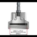 BGS  Technic Adapter 20 voor BGS 8027, 8098  voor Saab Ecopower