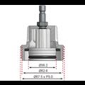 BGS  Technic Adapter 8 voor BGS 8027, 8098  voor VW