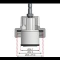 BGS  Technic Adapter nr. 14 voor BGS 8027, 8098  voor Ford