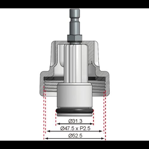 BGS  Technic Adapter nr. 15 voor BGS 8027, 8098  voor Ford, Mazda