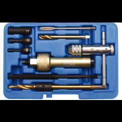 Glow Plug Removal Tool Kit  M9  9 pcs.