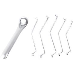Brake Bleeder Wrench Set  N-Type  7 - 11 mm  5 pcs.