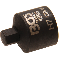 Brake Calliper Socket  internal Hexagon  extra short  7 mm
