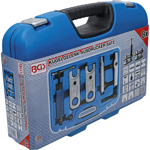 BGS  Technic Ball Joint Separator Set  hydraulic  12 t
