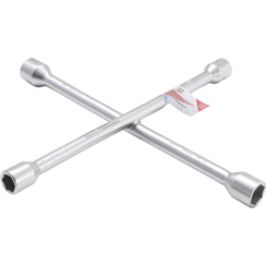 """Wiel-kruissleutel  voor personenauto's 17 x 19 x 21 x 12,5 mm (1/2"""")"""