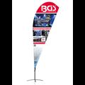 BGS  Technic BGS® Beachflag  Design 3  422 x 90 cm