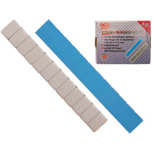 BGS  Technic Balanceer plakgewicht  12 x 5 g  50-dlg