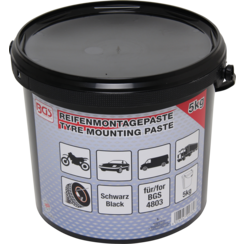 Tyre Fitting Grease  black  5 kg