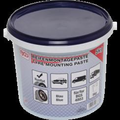 Bandenmontagepasta voor Run-Flat-banden  blauw  5 kg