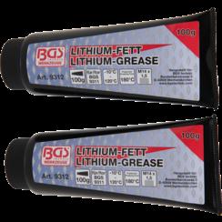 Lithiumvet voor minivetspuit BGS 9311  2 tubes