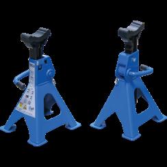 Assteun  draagvermogen 3000 kg / paar  slag 276 - 420 mm  1 paar