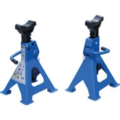 Axle Stands  load capacity 3000 kg / pair  stroke 276 - 420 mm  1 pair