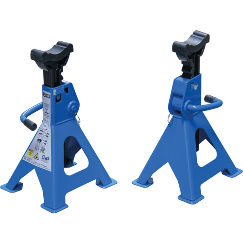 BGS  Technic Axle Stands  load capacity 3000 kg / pair  stroke 276 - 420 mm  1 pair