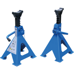 Axle Stands  load capacity 6000 kg / pair  stroke 382 - 600 mm  1 pair