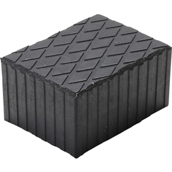 Rubber Pad  for Auto Lifts  160 x 120 x 80 mm