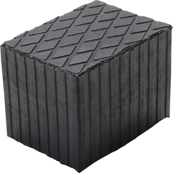 Rubber Pad  for Auto Lifts  160 x 120 x 120 mm