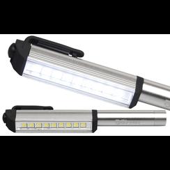 LED stift aluminium met 9 LED's