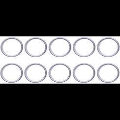 Seal Ring Assortment  for BGS 126  Ø 17 / 20.5 mm  20 pcs.