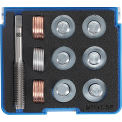 Reparatieset voor olieaftap schroefdraad  M11 x 1,5 mm