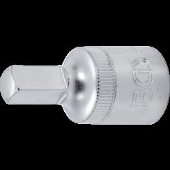 "Oil Service Socket  12.5 mm (1/2"") Drive  internal square  8 mm"
