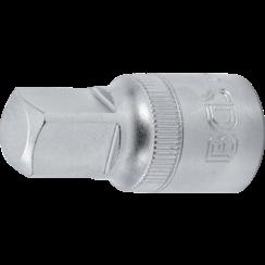 "Oil Service Socket  12.5 mm (1/2"") Drive  internal square  1/2"""