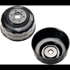 Oliefiltersleutel  15-kant  Ø 74 - 76 mm  voor Audi, Ford, Mercedes-Benz, Opel, VW
