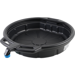 Oil Tub / Drip Pan with Nozzle  15 l
