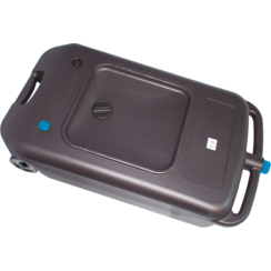 Oil Changing Can with Nozzle  mobile  40 l