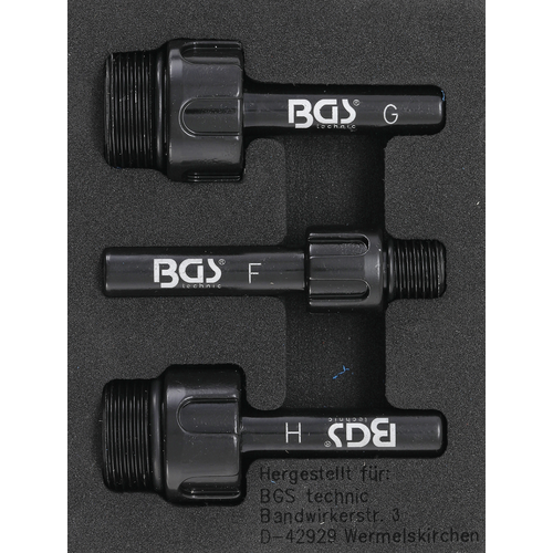 BGS  Technic Adaptor for Transmission Oil Filling Tool  for Audi, Mercedes-Benz, VW